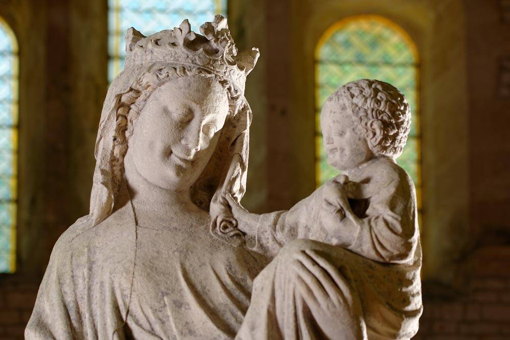 Statue of the Virgin and Christ Child